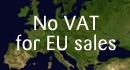 No VAT for EU sales
