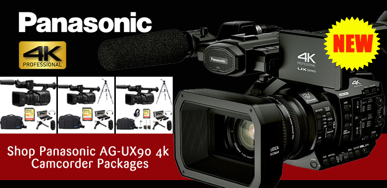 Panasonic AG-UX90 packages