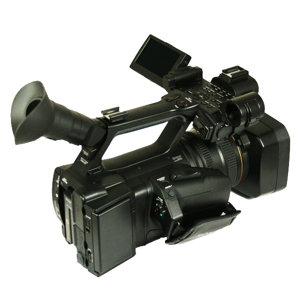 Used Sony Hxr Nx5 Camcorder With Accessories Hours 140