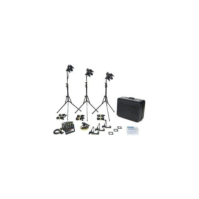 Dedolight KUK150 150 Hard Case DT24-3 KIT