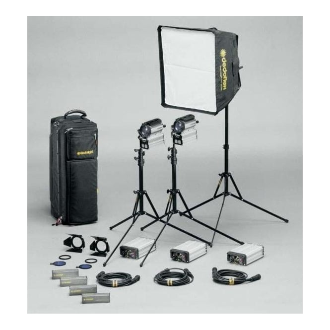 Dedolight S200-3 Sundance Kit Daylight/Tungsten