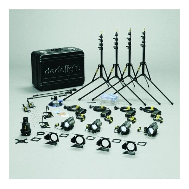 Dedolight KA1S Standard 100W 12V Tungsten Kit 230/240VAC