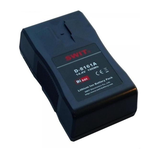 Swit D-8161A 190wh digital gold mount battery