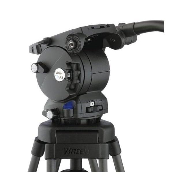 Vinten V4046-0001 100mm Ball base head with 1 telescopic pan bar