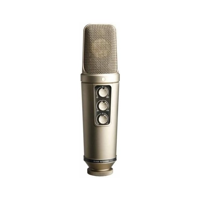 Rode NT2000 Studio Condenser Microphone