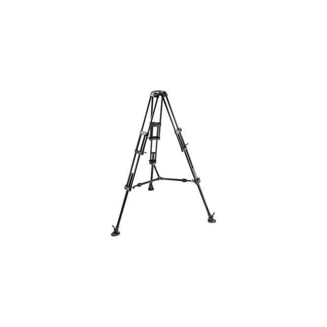 Manfrotto 545B Pro Alu Videotripod-100Bowl-2S