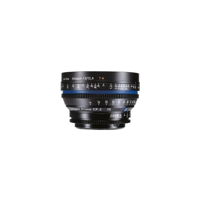 Carl Zeiss 1864-642 Compact Prime CP.2 15mm/T2.9 EF Mount Lens