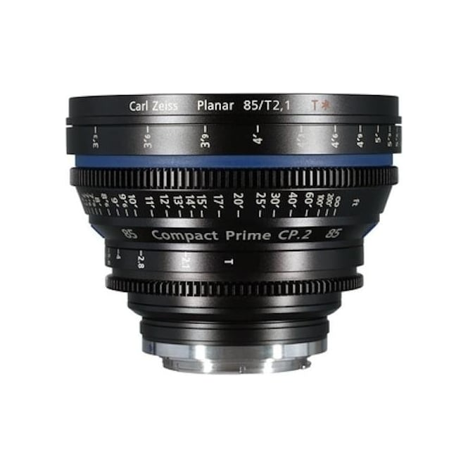 Carl Zeiss 1794-636 Compact Prime CP.2 85mm / T2,1 T EF Mount Lens - imperial