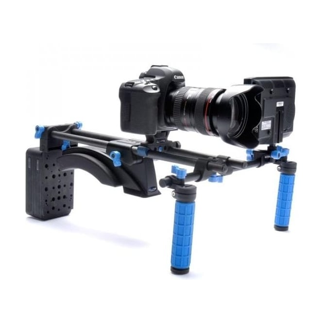 Redrock 8-125-0008 Redrock Micro eyeSpy Deluxe Shouldermount Rig with lowBase