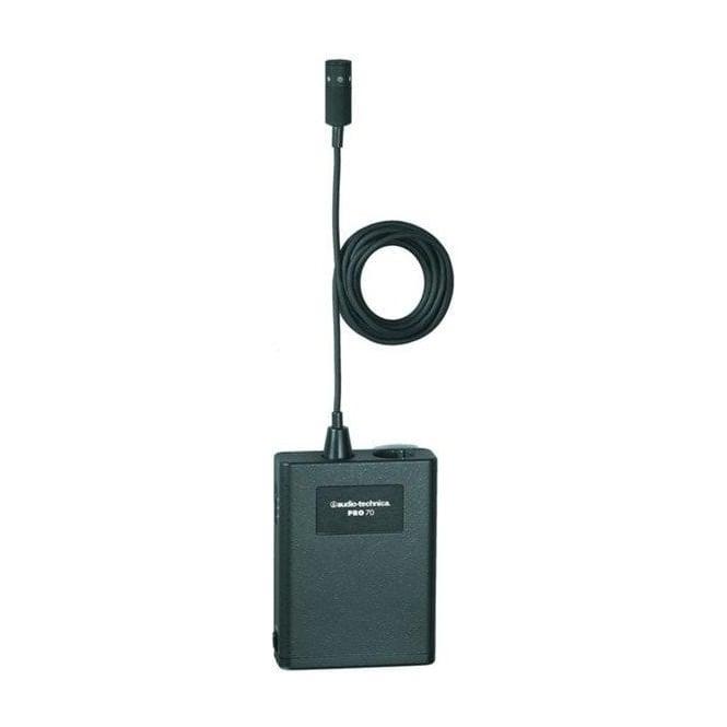 Audio-Technica Pro70 Cardioid condenser lavalier / instrument microphone