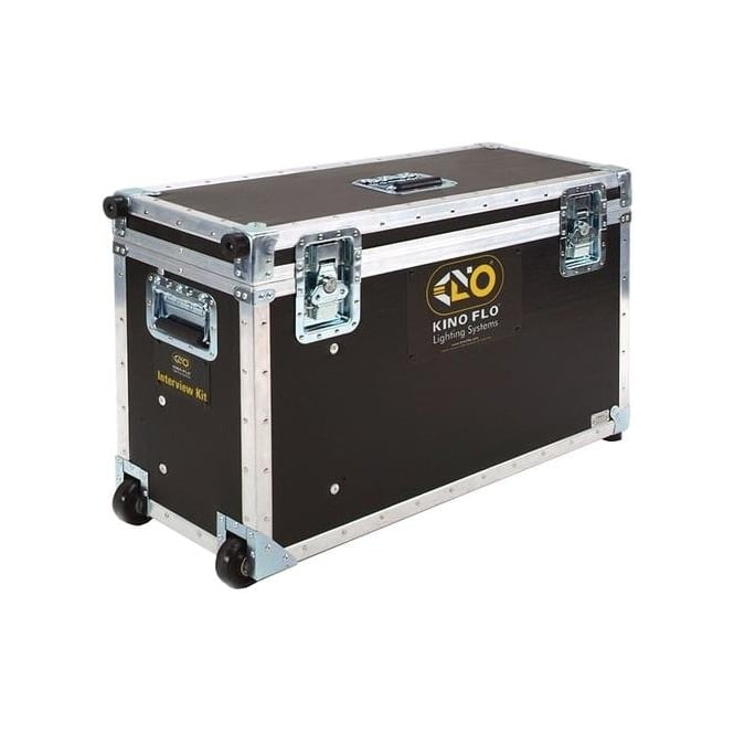 Kino Flo KAS-INT3 Interview Ship Case 2ft 4Bank System, 2ft Double Systems x2