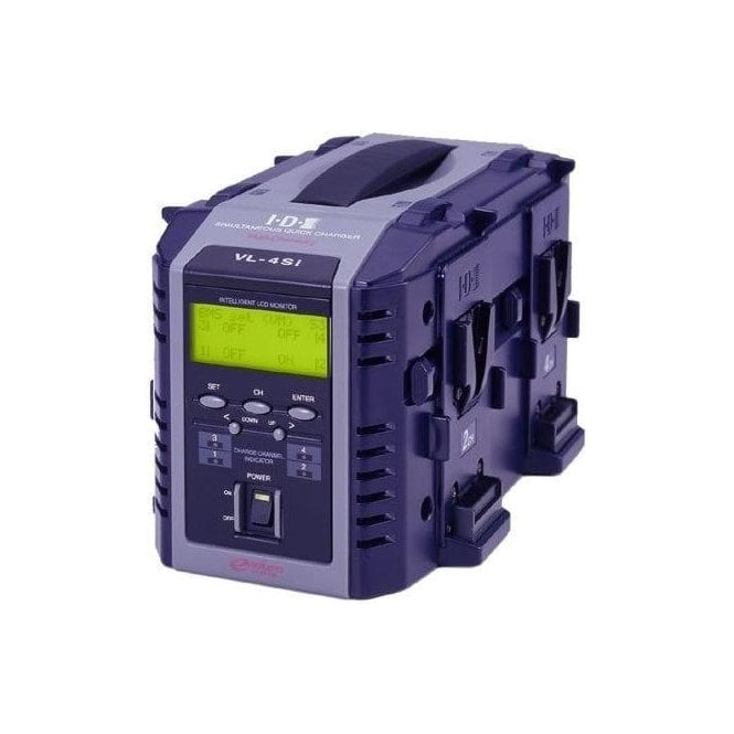 IDX VL-4Si  4 Ch. ENDURAFast Charger with Intelligent Display