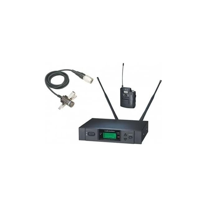 Audio-Technica ATW-3110BP UniPak system with AT829cW