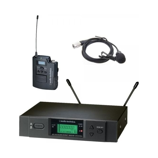 Audio-Technica ATW-3110BP2 UniPak system with AT831aW