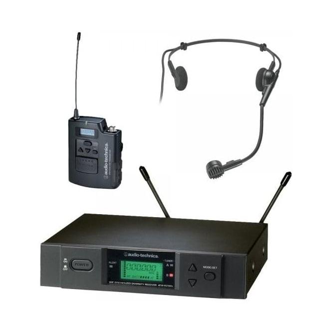 Audio-Technica ATW-3110BH UniPak system with PRO8HEcW