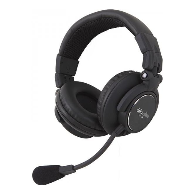 Datavideo DATA-HP2A  Upgraded Two Ear Headset for ITC-100SL