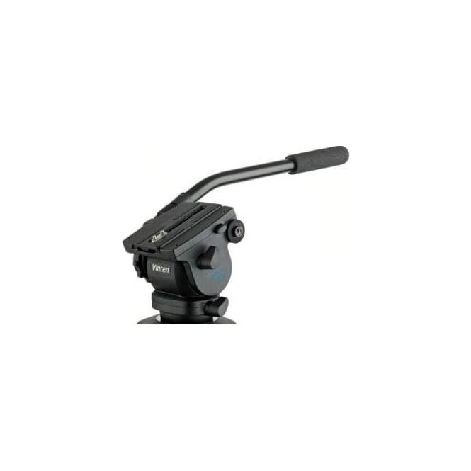 Vinten V4092-0001 75mm ball base head with 1 fixed pan bar