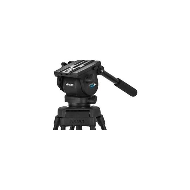 Vinten V4105-0001 75mm ball base head with 1 fixed pan bar