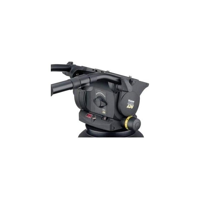 Vinten 3465-3S Dual 100/150mm Ball base head with 2 telescopic pan bar