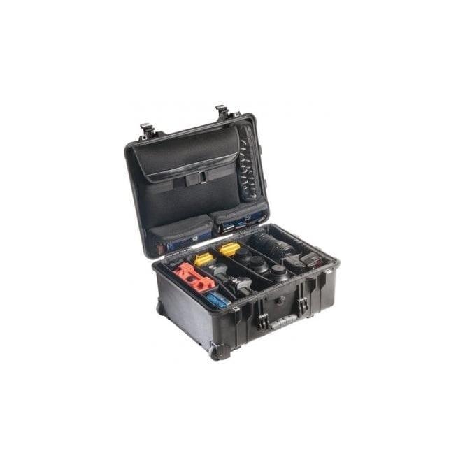 Peli 1560SC Studio Case 1560LOC w Padded Dividers 517 x 392 x 229