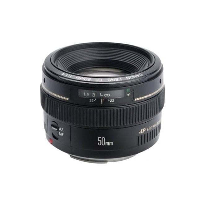 Canon EF 50mm f/1.4 UsM 50mm Fixed Focal Length Lens