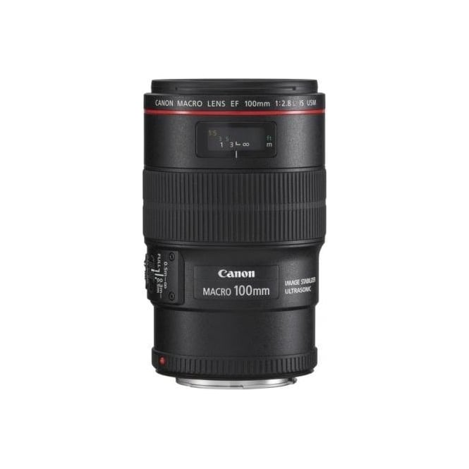 Canon EF 100mm f/2.8L Macro Is UsM 35mm SLR Zoom Lens