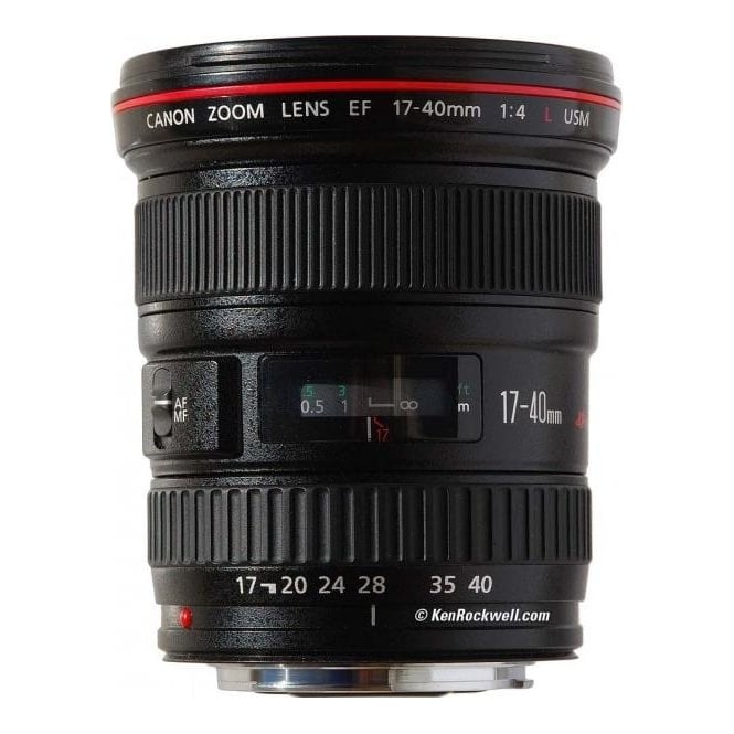 Canon EF 17-40mm f/4L UsM Ultra Wide Angle Zoom Lens