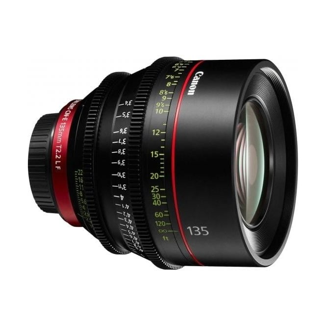 Canon CN-E 135mm T2.2 L F EF mount Digital Cinema Prime Lens