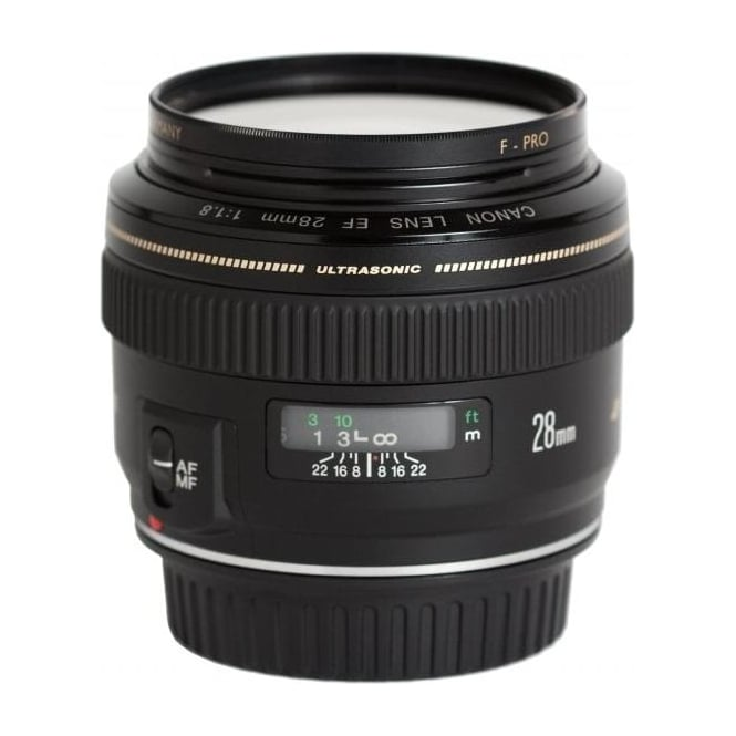 Canon EF 28mm f/1.8 UsM Aspherical Lens