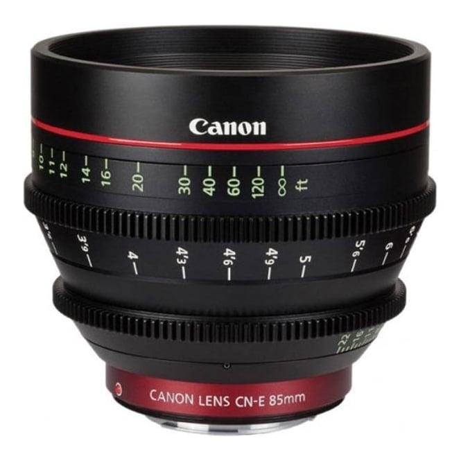 Canon CN-E 85mm T1.3 L F EF mount Digital Cinema Prime Lens
