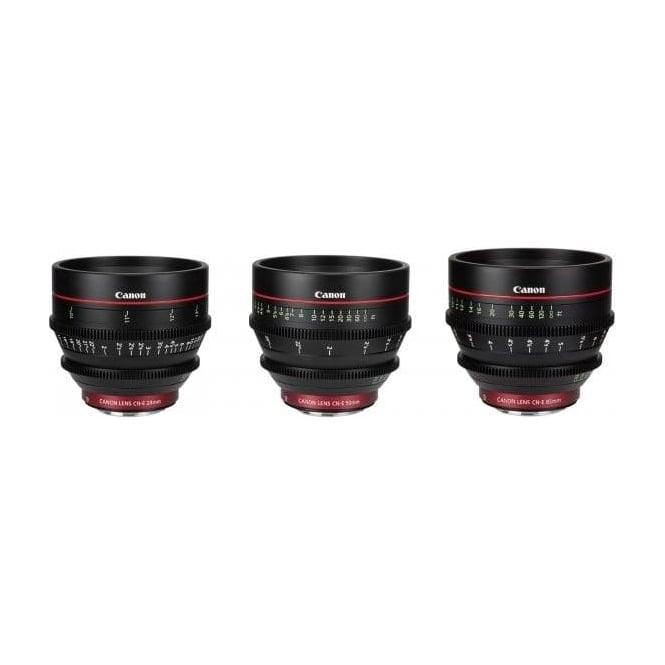 Canon cn-e-24-50-85 cn-e EF Mount Prime Lens Set