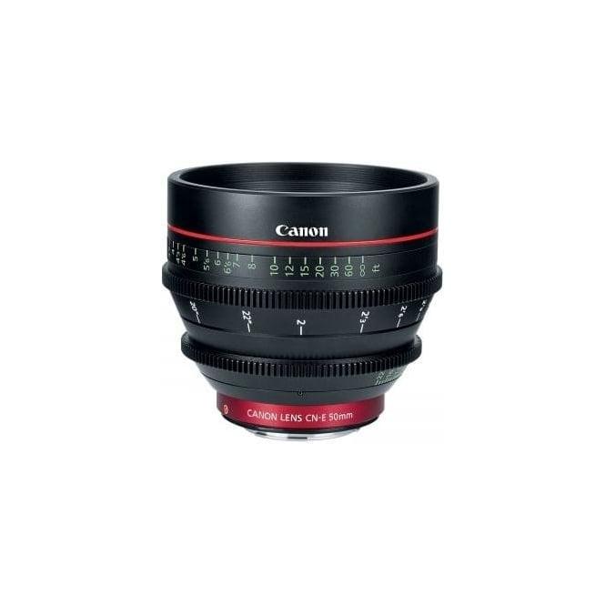 Canon CN-E 50mm T1.3 L F EF mount Digital Cinema Prime Lens