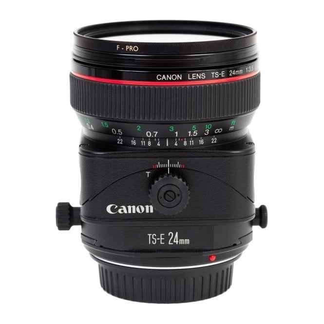 Canon TS-E 24 f3.5L II Tilt and Shift Wide Angle Lens