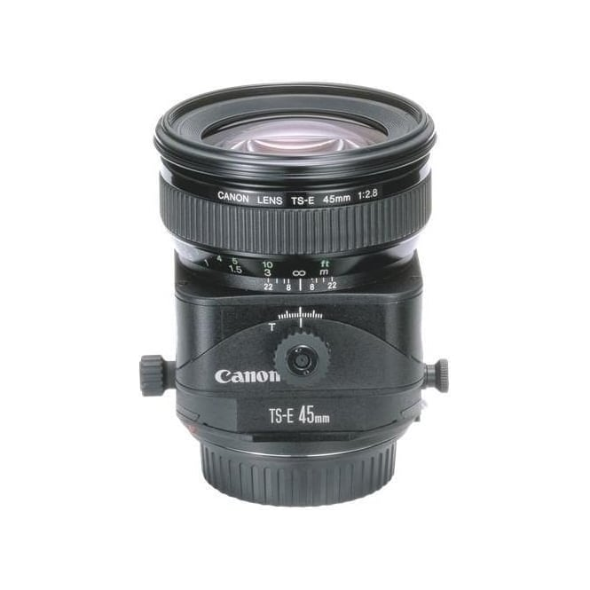 Canon TS-E 45 F2.8 Tilt and Shift Standard Focal Length Lens