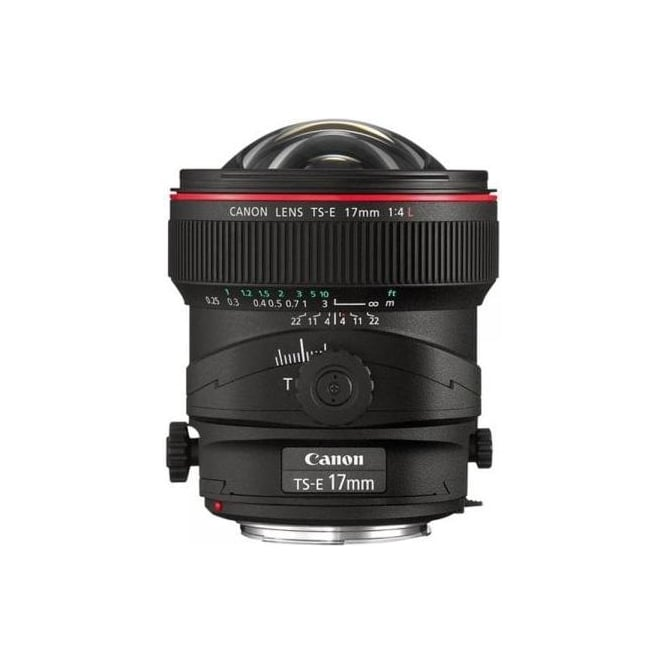 Canon TS-E 17mm f/4L Tilt and Shift Ultra Wide Angle Lens