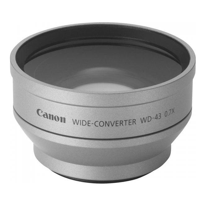 Canon WD-H43 0.7x Wide Converter
