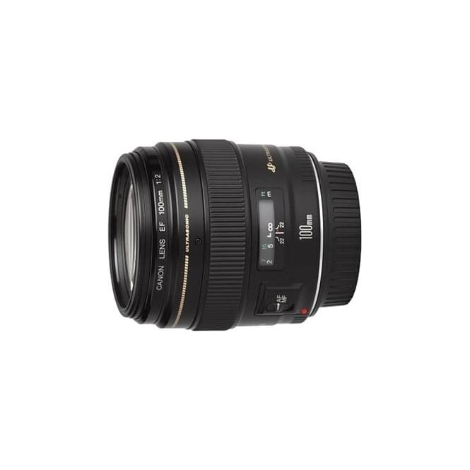 Canon EF 100mm f/2 USM Fixed Focal Lens