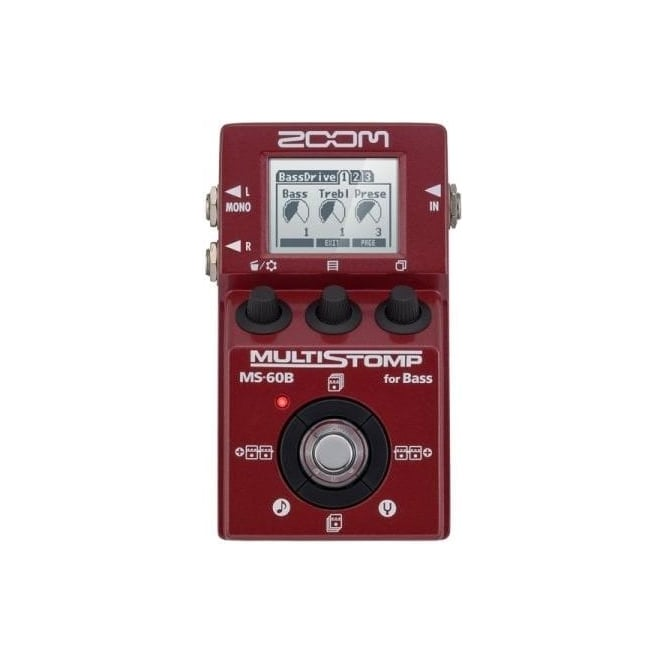 Zoom MS60B multistomp bass pedal