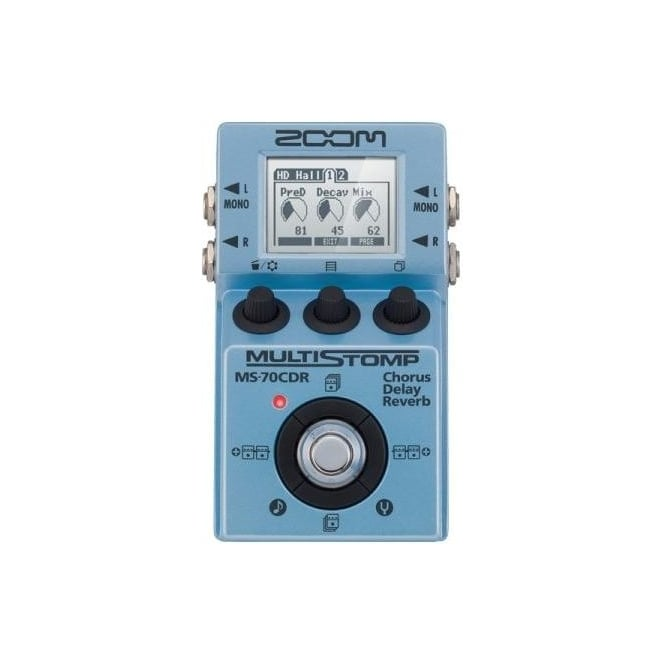 Zoom MS70CDR multistomp chorus delay & reverb