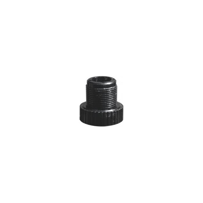 "Audio-Technica AT8422 Plastic threaded adaptor, converts 3/8"" to 5/8"" threaded mic clamp"