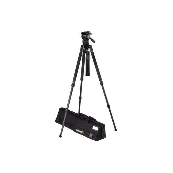 Miller Compass 15 (1034) Toggle 2-St Tripod (420G) Ground Spreader (411) Pan Handle (679) Strap (554) Softcase (876)