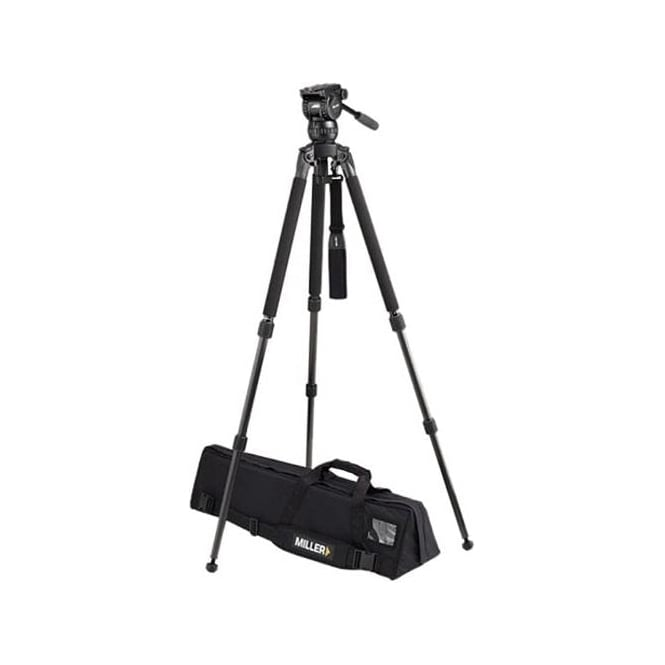 Miller Compass 15 (1034) Solo DV 2-St Alloy Tripod (1630) Pan Handle (679) Strap (1520) Softcase (876)