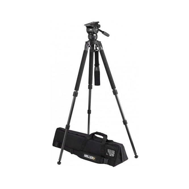 Miller Compass 20 (1036) Solo DV 2-St Alloy Tripod (1630) Pan Handle (679) Strap (1520) Softcase (876)