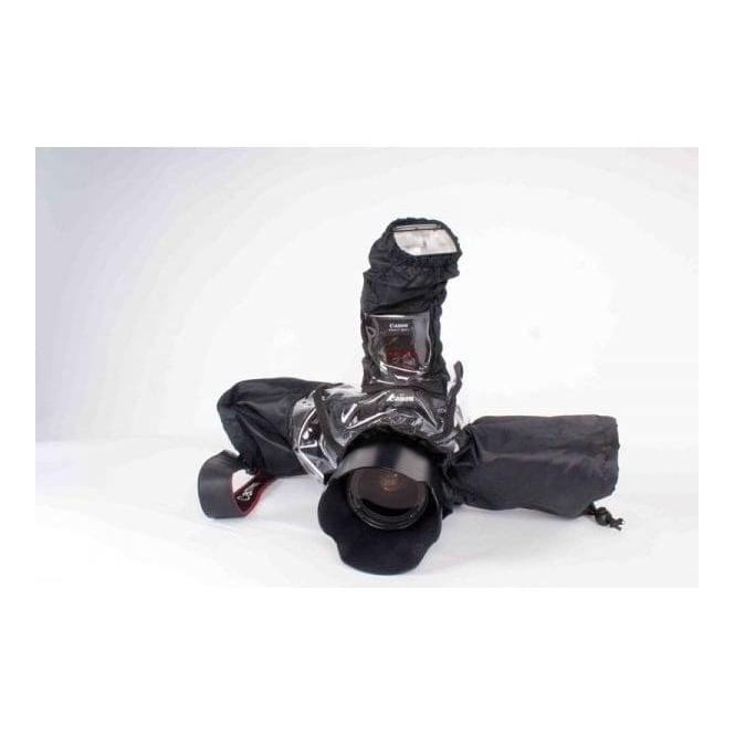 Camrade CAM-WSDSLR WetSuit DSLR raincover for most DSLR cameras