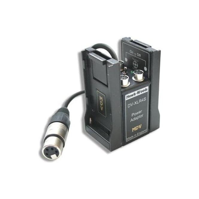 Hawk-Woods DV-XLR4S Power Adaptor + Aux