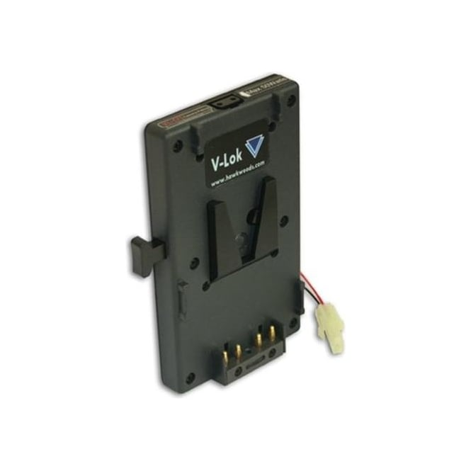 Hawk-Woods VL-CF1 V-Lok Camera Mount ENG/EFP Camcorders â€Ã¢Ã¢â€š¬ Output: Power-Con