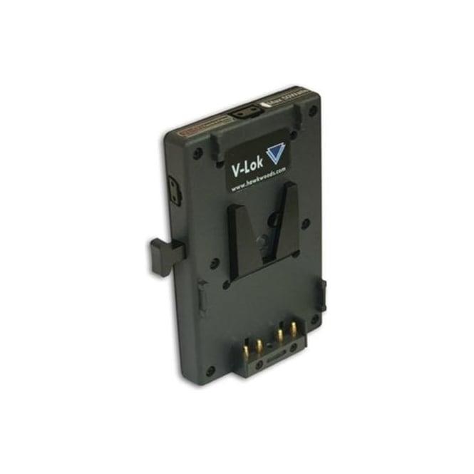 Hawk-Woods VL-CF7 V-Lok Monitor Fitting TV Logic (LVM074) & Power-Con