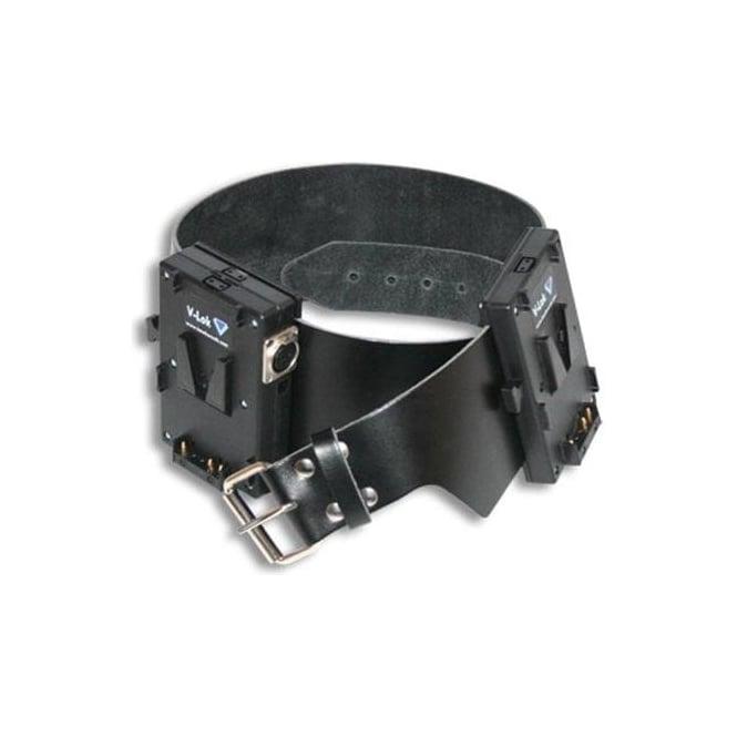 Hawk-Woods VL-B2 V-lok Battery Belt — Output: XLR 3-pin 28.8V Arricam