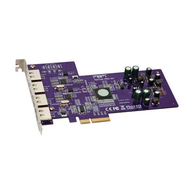 Sonnet SON-TSATA6PRO-E4 tempo sata 6gb pro pcie 2.0 card (4 external ports)
