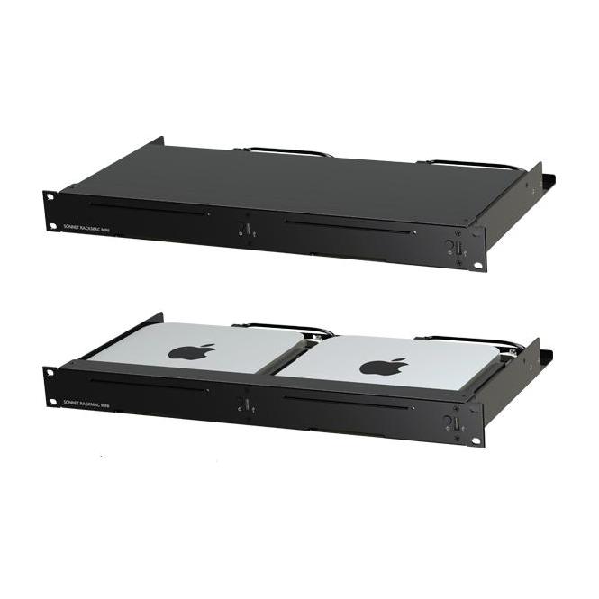 Sonnet SON-RACKMIN2X Mac Rack Mini 1U Rack for 2x Mac Minis